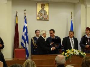 Τελετή απονομής του θυρεού της Δυτικής Μακεδονίας στον Πρόεδρο της Δημοκρατίας από το Περιφερειακό Συμβούλιο (βίντεο-φωτογραφίες)