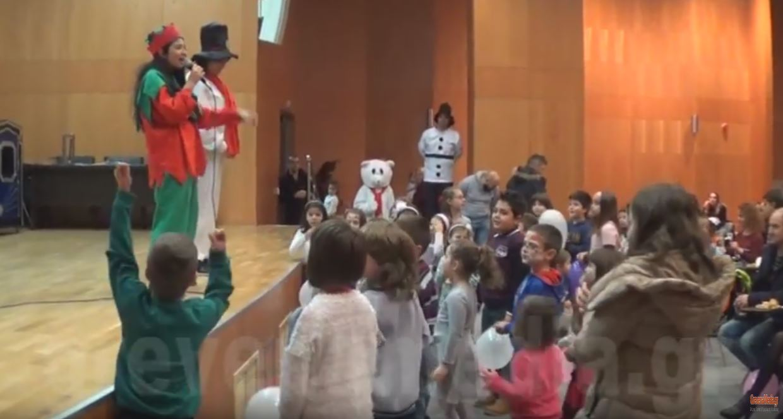 Χριστουγεννιάτικη εκδήλωση για τα μικρά παιδιά των αστυνομικών και ευχές του προέδρου κ.Ευαγγέλου