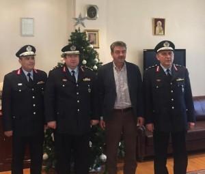 Επίσκεψη του Γενικού Επιθεωρητή Αστυνομίας Βορείου Ελλάδος, Αντιστράτηγου κ.Καραμαλάκη Μιχαήλ