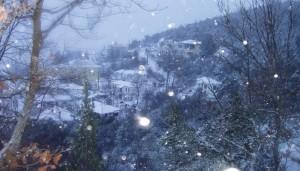 Χιονοπτώσεις στα Ορεινά χωριά του Νομού Γρεβενών