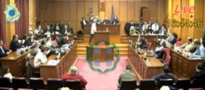 Αντιπαράθεση Σημανδράκου και Δακή στο Περιφερειακό Συμβούλιο για τα έργα (βίντεο)