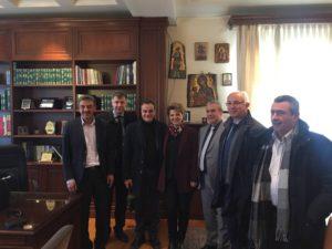 Επισκέψεις των Υπουργών ΨΠΤΕ κου Νίκου Παππά και Διοικητικής Ανασυγκρότησης κας Όλγας Γεροβασίλη στον Δήμαρχο Γρεβενών