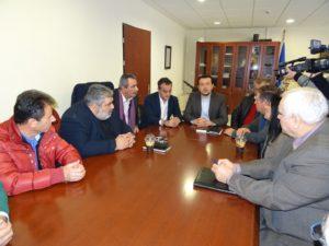 Στον Περιφερειάρχη Δυτικής Μακεδονίας σήμερα το πρωί ο Ν. Παππάς.Ιδιαίτερη αναφορά στο Ταμείο Δυτικής Μακεδονίας (φωτογραφίες)