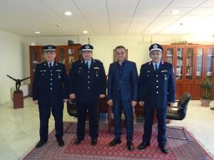 Επίσκεψη του Γενικού Επιθεωρητή Αστυνομίας Βορείου Ελλάδος  στον Περιφερειάρχη Δυτικής Μακεδονίας