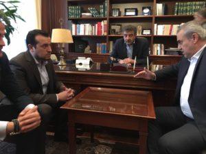 Φθηνό πετρέλαιο για τα Γρεβενά ζήτησαν ο βουλευτής Γρεβενών Χ. Μπγιάλας και ο δήμαρχος Γ. Δασταμάνης (βίντεο)
