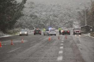 Νεότερη ανακοίνωση της αστυνομίας (14-1 ώρα 12.15΄) για την  κατάσταση στο οδικό δίκτυο της Περιφέρειας Δυτικής Μακεδονίας
