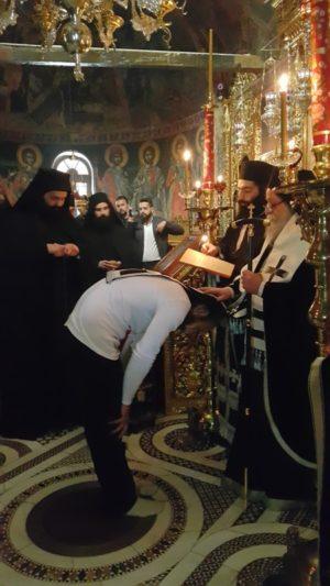 Η πρώτη Προηγιασμένη Θεία Λειτουργία και Κουρά δύο νέων μοναχών στην Ιερά Μονή Αγίου Νικάνορος Ζάβορδας (φωτογραφίες)