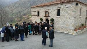 Προσκυνηματική εξόρμηση στην Ιερά Μονή Αγίου Αθανασίου στην Εράτυρα