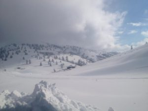 """Χιόνια στα ορεινά των Γρεβενώνέφερε η """"Γαλάτεια"""""""