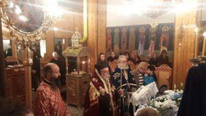Ακολουθία των Α΄ Χαιρετισμών στον Ταξιάρχη Γρεβενών και στον Ιερό Ναό Αγ. Γεωργίου Βαροσίου (φωτογραφίες)