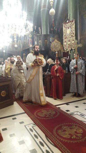 Η Κυριακή της Ορθοδοξίας στον Ιερό Μητροπολιτικό Ναό της Ευαγγελιστρίας Γρεβενών