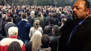 Γρεβενά: Συγκέντρωση από οπαδούς του Σώρρα (Βίντεο)