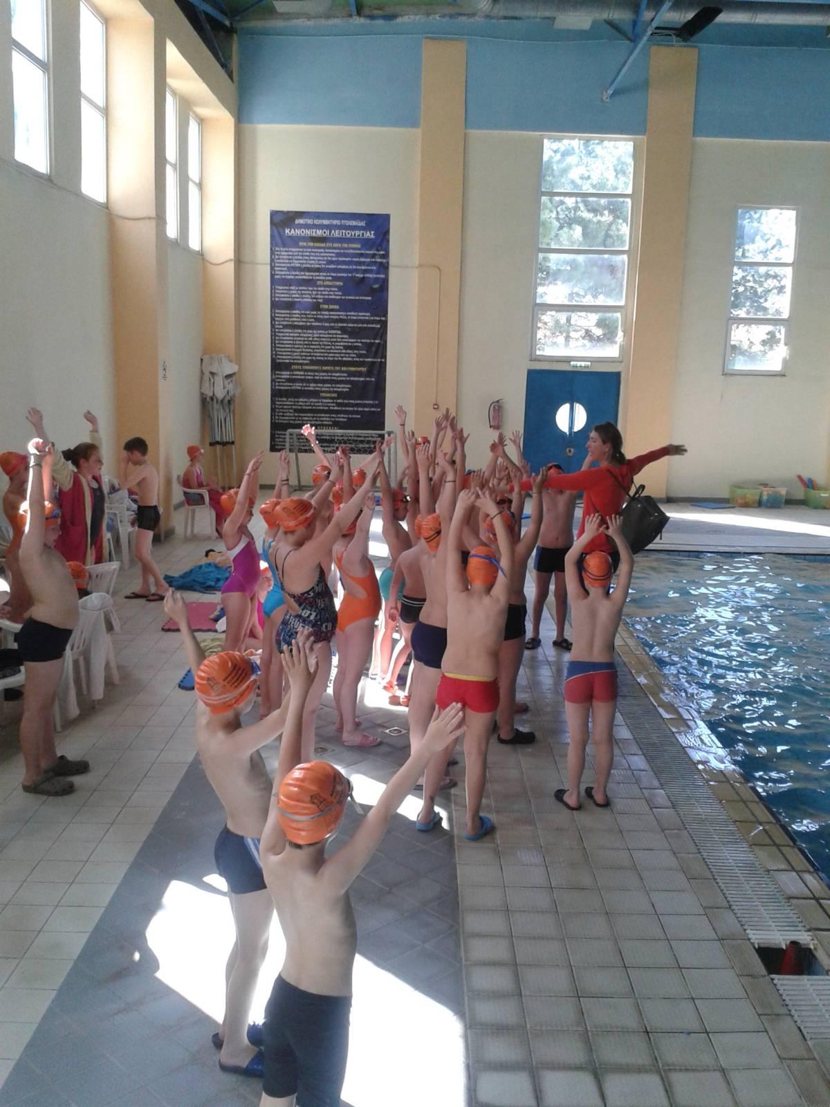 """Α.Σ.ΓΡΕΒΕΝΩΝ """"ΕΛΙΜΕΙΑ"""" : Φιλική ημερίδα ακαδημιών κολύμβησης στην Πτολεμαΐδα"""