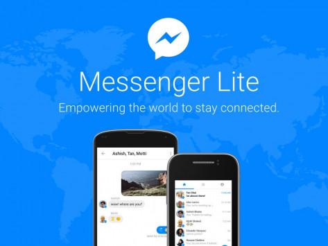 Το Facebook Messenger Lite κυκλοφορεί σε περισσότερες από 100 χώρες!