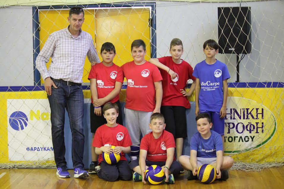 Συνεχίζεται το mini volley του Γυμναστικού Συλλόγου Γρεβενών