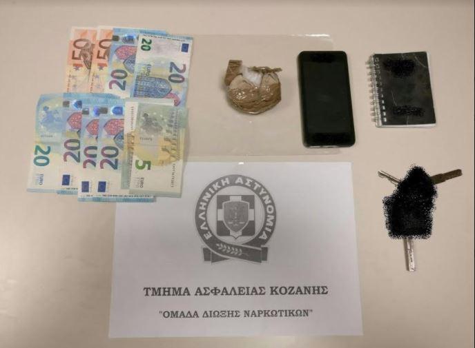 Σύλληψη 42χρονου στην Κοζάνη για διακίνηση ηρωίνης (Φωτογραφία-Βίντεο)