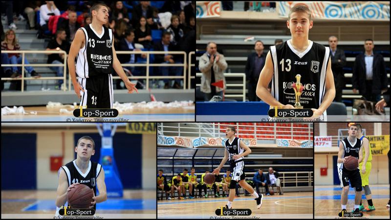 Μπάσκετ: Στον Ηρακλή Θεσσαλονίκης ο νεαρός Θανάσης Τσούκας από τα Γρεβενά