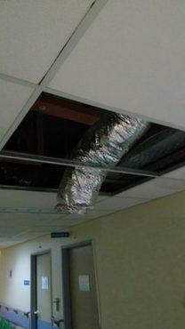 """Δελτίο τύπου-Γεν.Νοσοκομείο Γρεβενών: """"Το νοσοκομείο πλημμύρισε από την κακή υγρομόνωση κατά την κατασκευή"""""""