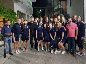 Στο Σπήλαιο με την Εθνική ομάδα volley γυναικών ο Ε. Σημανδράκος (φωτογραφίες)