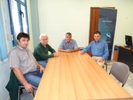 Επίσκεψη στον Αντιπεριφερειάρχη πολιτισμού Αντ.Δασκαλόπουλο πραγματοποίησε αντιπροσωπεία του Συλλόγου Γρεβενιωτών Κοζάνης 'Ο ΑΙΜΙΛΙΑΝΟΣ'