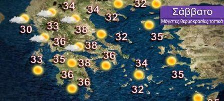 Μίνι καύσωνας και ισχυρές καταιγίδες το Σαββατοκύριακο.Πως θα είναι ο καιρός στη Δυτ. Μακεδονία