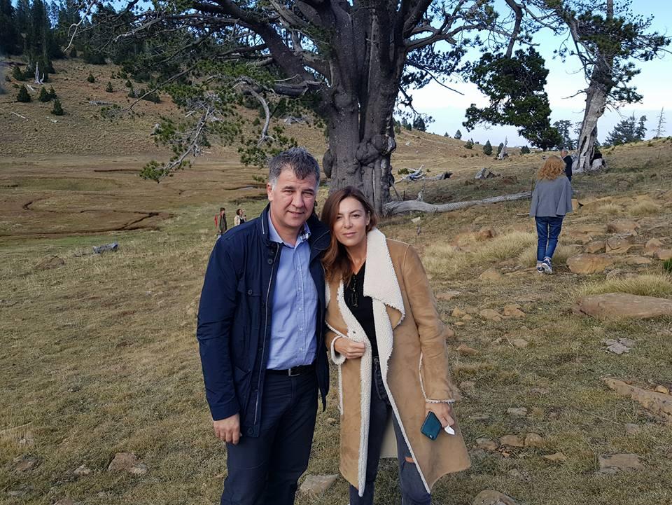 Συνάντηση του αντιπεριφερειάρχη Βαγγέλη Σημανδράκου με την Λένα Φιλίππου Κορρέ, ιδρυτικό μέλος της γνωστής εταιρείας καλλυντικών KORRES (φωτογραφίες)