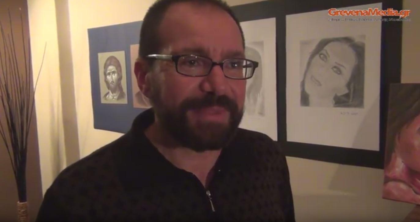 Έκθεση ζωγραφικής στο Rock Cafe – (Βίντεο)