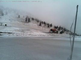Στα λευκά η Βασιλίτσα. Αναμένονται πιο έντονες χιονοπτώσεις τις επόμενες μέρες