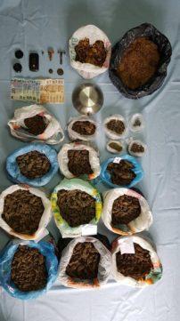 Γρεβενά: Σύλληψη 76χρονου ημεδαπού για παραβάσεις των νόμων περί ναρκωτικών, προστασίας αρχαιοτήτων καθώς και για λαθρεμπορία (φωτογραφίες)