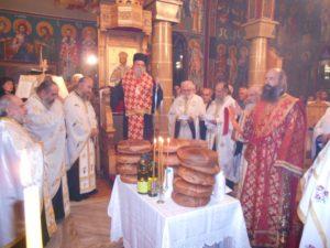 Aρχιερατικός Εσπερινός στον Ιερό Ναό Αγίου Νεκταρίου, στο Βατόλακκο Γρεβενών (φωτογραφίες)