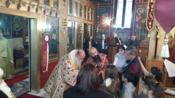Στην Παλιουριά Γρεβενών ο Σεβασμιώτατος Μητροπολίτης Γρεβενών κ. Δαβίδ (φωτογραφίες)