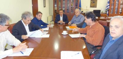 Σύσκεψη για τον μεθοριακό σταθμό Πρεσπών στο γραφείο του Περιφερειάρχη Δυτικής Μακεδονίας Θ. Καρυπίδη(βίντεο)