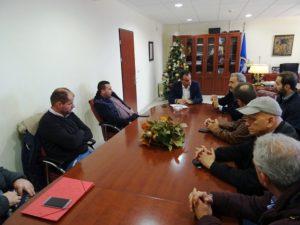 Συνάντηση του Θ. Καρυπίδη με τους εκπροσώπους των Αστικών ΚΤΕΛ της Περιφέρειας