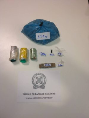 Σιάτιστα Κοζάνης: Συνελήφθη 46χρονος ημεδαπός για κατοχή κοκαΐνης και ακατέργαστης κάνναβης