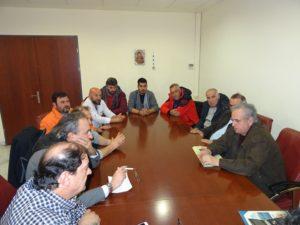 Οι εκπρόσωποι των παραγωγών και πωλητών των Λαϊκών Αγορών Δυτικής Μακεδονίας επισκέφθηκαν τον Περιφερειάρχη