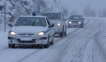 Η κατάσταση στο οδικό δίκτυο της Περιφέρειας Δυτικής Μακεδονίας ανά Διεύθυνση Αστυνομίας