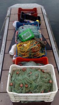 Σύλληψη δυο αλλοδαπών στη λίμνη της Μεγάλης Πρέσπας για παράνομη αλιεία
