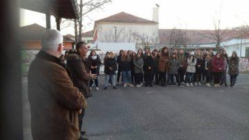 Επίσκεψη του Αντιπεριφερειάρχη Παιδείας και του Προέδρου της Δημοτικής Κοινότητας Γρεβενών στα λύκεια του Δήμου Γρεβενών