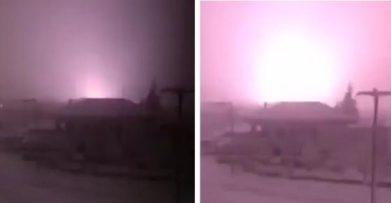 Έκρηξη σε σταθμό της ΔΕΗ στο Άργος Ορεστικό. Δείτε βίντεο από τη στιγμή της έκρηξης