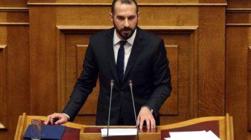 Παρέμβαση Υπουργού Επικρατείας και Κυβερνητικού Εκπροσώπου, Δημήτρη Τζανακόπουλου στη Βουλή