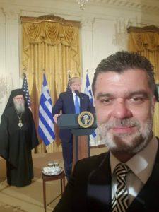Προσκεκλημένος στον Λευκό Οίκο ο Ανδρέας Πάτσης για τον εορτασμό της 25ης Μαρτίου