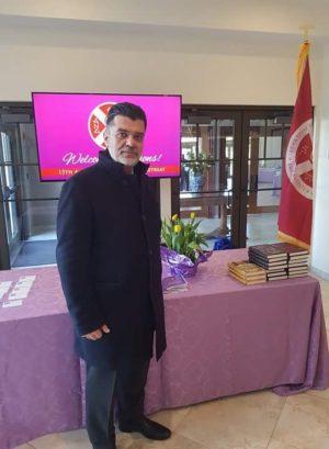 Ο Ανδρέας Πάτσης στη  Σύνοδο των Αρχόντων  του Οικουμενικού Πατριαρχείου