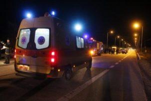 Θανατηφόρο τροχαίο στο δρόμο Κοζάνης – Αιανής, στο ύψος της Κερασιάς – Νεκρός 25χρονος