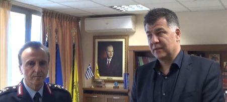 Στον Ε. Σημανδράκο ο νέος Γενικός Περιφερειακός Αστυνομικός Δ/ντής Αθ. Μαντζούκας (Βίντεο)