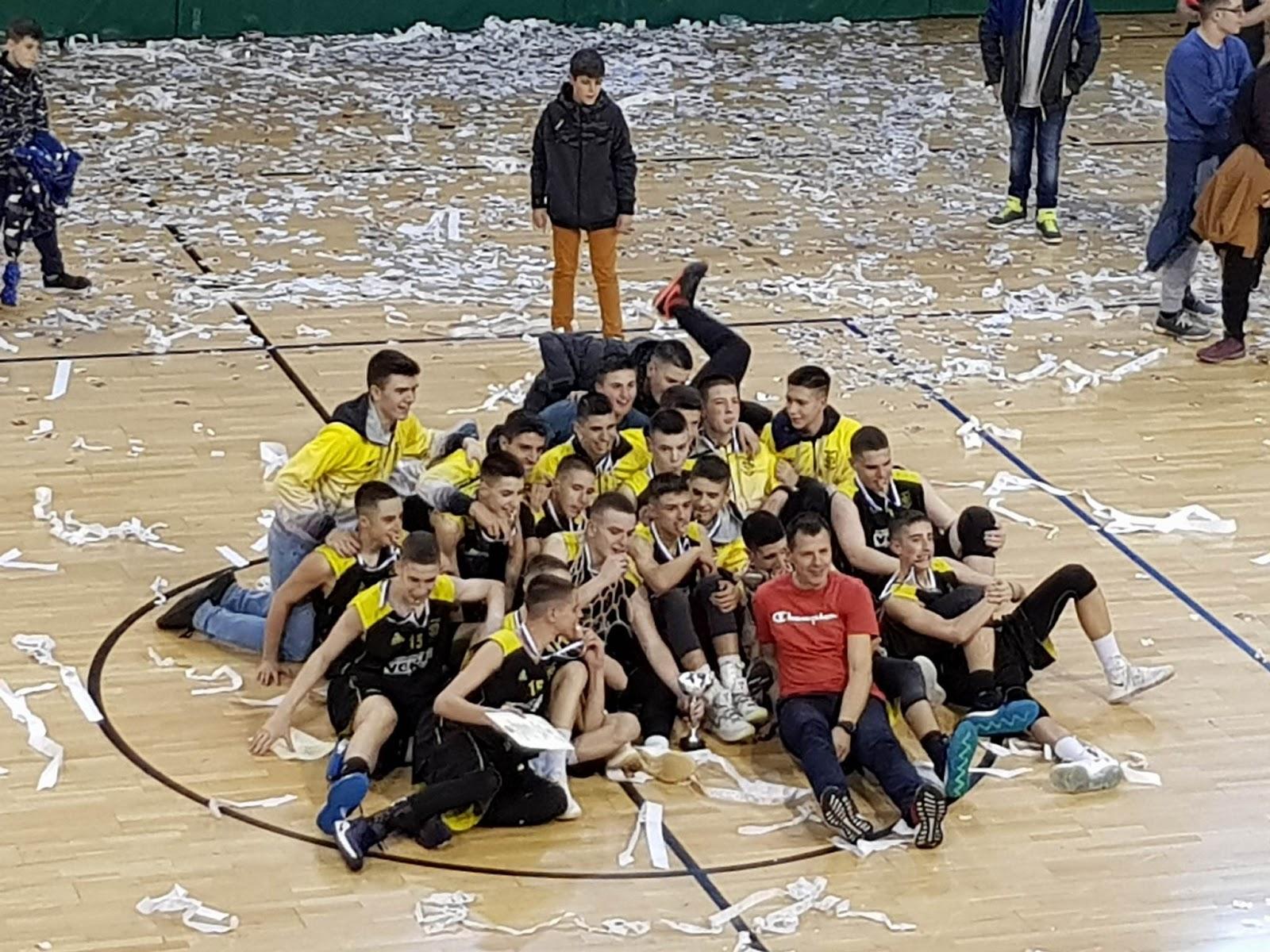 Πρωταθλητής Παίδων ΕΚΑΣΔΥΜ 2017-18 ο Πρωτέας Γρεβενών