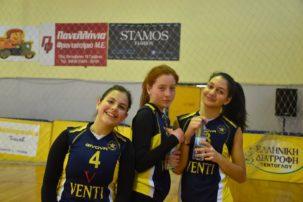 Αστέρας Γρεβενών Βόλεϊ : Οι Κορασίδες του Αστέρα πέτυχαν το αήττητο στο δεύτερο γύρο του πρωταθλήματος