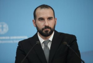 Η ενημέρωση των πολιτικών συντακτών και των ανταποκριτών ξένου Τύπου από τον Υπουργό Επικρατείας και Κυβερνητικό Εκπρόσωπο Δημήτρη Τζανακόπουλο