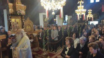 Το Βαρόσι γιόρτασε τον Μεγαλομάρτυρα Άγιο Γεώργιο