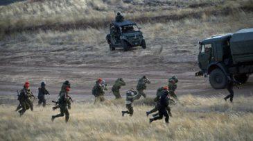 Στρατιωτική άσκηση στη Δυτική Μακεδονία