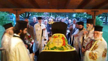 Εορτή Αγίας Γλυκερίας και Δοξολογία για τη διάσωση από τον σεισμό στη Βάρη Γρεβενών (φωτογραφίες)